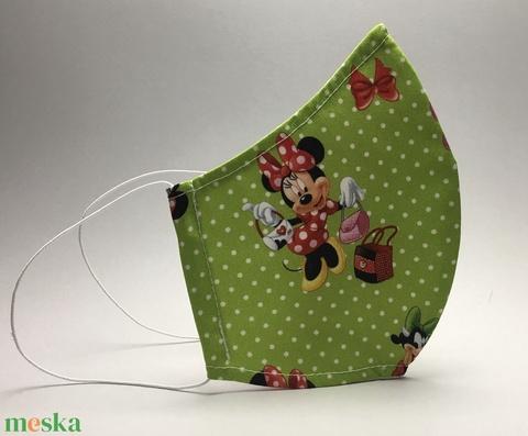 Egyedi  Minnie egeres  szájmaszk,mosható szájmaszk,textil szájmaszk,egészségügyi  szájmaszk-- (decorfantasy) - Meska.hu