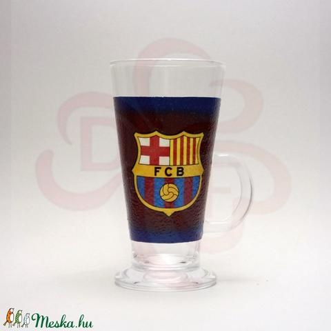 FC Barcelona kávés pohár ; Barcelona foci szurkolóknak - otthon & lakás - konyhafelszerelés - pohár - Meska.hu