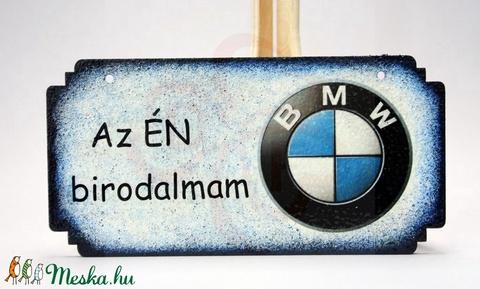 BMW fatábla ; BMW rajongóknak - otthon & lakás - dekoráció - ajtódísz & kopogtató - Meska.hu