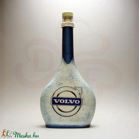 VOLVO italos üveg ; Volvo autód fényképével is! - otthon & lakás - dekoráció - díszüveg - Meska.hu