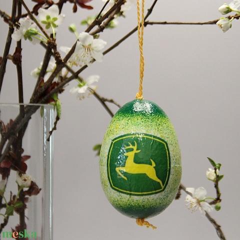 John Deere húsvéti tojás ; Ajándék John Deere rajongók részére világos - Meska.hu