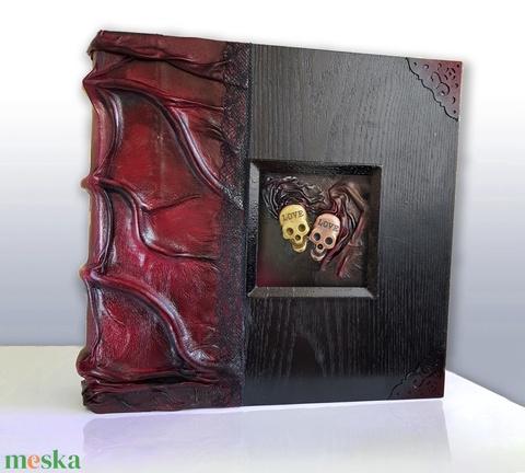 Luxury skull  love fotóalbum (Denera) - Meska.hu