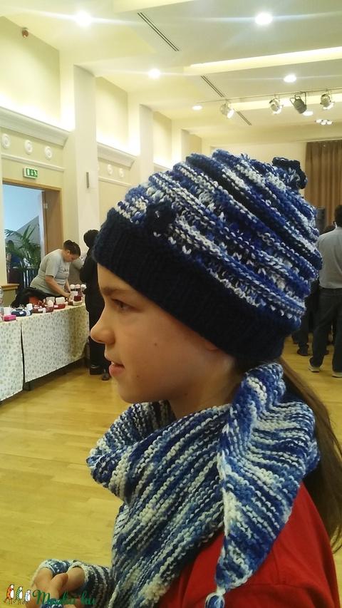Kék melírozott szett fiataloknak (designbybercica) - Meska.hu
