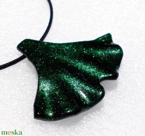 Smaragd aventurin ginkgo ékszerszett ajándék  karácsonyra névnapra, születésnapra. - Meska.hu