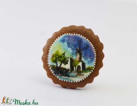 Ahol Isten malmai őrölnek - festett kézműves keksz (EdibleArt) - Meska.hu