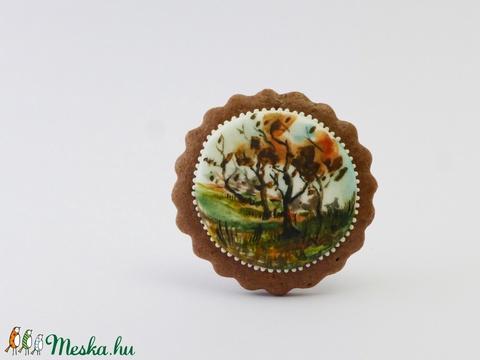Ősz Lionban - festett kézműves keksz (EdibleArt) - Meska.hu