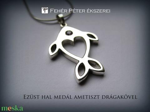 Halacska medál (egszeresz) - Meska.hu