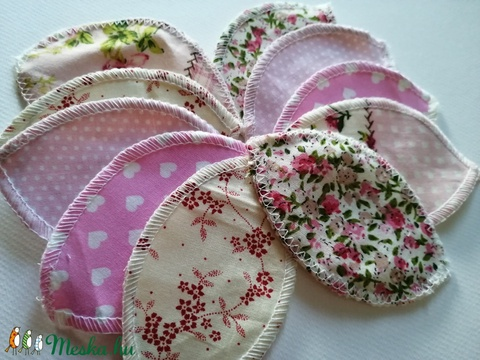 Női szirom/intim szirom - halvány mintás textilekből (EGYEDIna) - Meska.hu