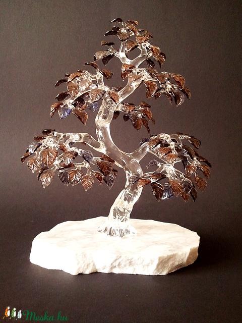 Üveg bonsai ..egyedi kérésre.. (EisemannGlass) - Meska.hu