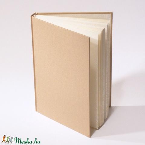 7 db-os csomag: natúr, kemény borítós, díszíthető könyv A/5 méretben. Napló, emlékkönyv, vendégkönyv - Meska.hu