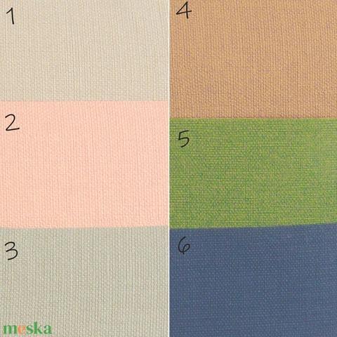 Emlékkönyv, album kopt fűzéssel, domborított monogrammal, többféle színben rendelhető - Meska.hu