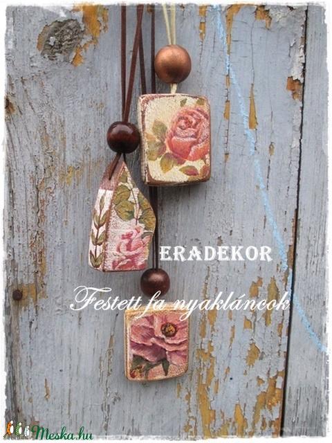 Bohém, házikós romantika - ékszer - nyaklánc - medálos nyaklánc - Meska.hu