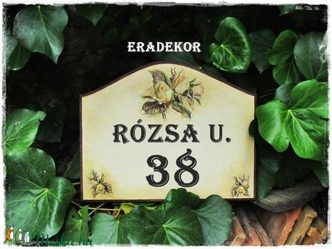 Romantikus rózsás otthon - Meska.hu