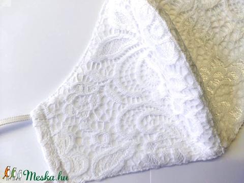 Csipke Textil mosha tó maszk, arcmaszk, szájmaszk (felnőtt) (Erikadesing) - Meska.hu