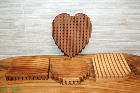Kreatív fa szappantartó