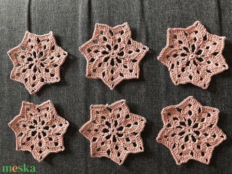 Karácsonyi csillag (Ewelinacrochet) - Meska.hu