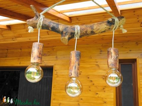 Mennyezeti lámpa (fafurdancs) - Meska.hu