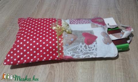 Textil ajándék tasak - Meska.hu