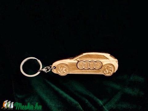 Kulcstartó Audi! (fantasy66) - Meska.hu