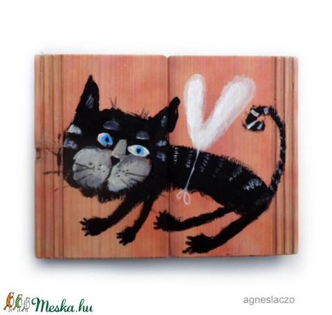 Kormos kópé macska (FANYUVASZTO) - Meska.hu