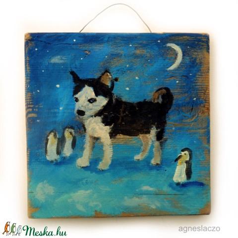 Husky és a pingvinek  (FANYUVASZTO) - Meska.hu