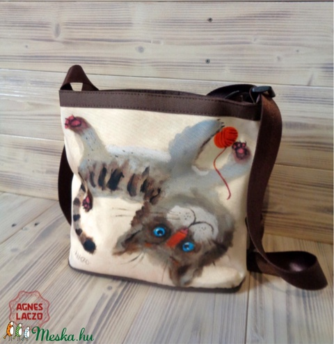 Pajkos macska táska (FANYUVASZTO) - Meska.hu
