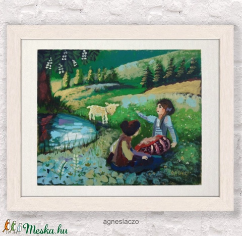 Arany erdő - Arany bárány (FANYUVASZTO) - Meska.hu