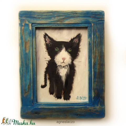 Fekete - fehér cica (FANYUVASZTO) - Meska.hu