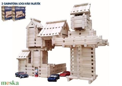 2 cs.  LOGI-VÁR logikai építő játék (172 elem) (fazekasferenc) - Meska.hu