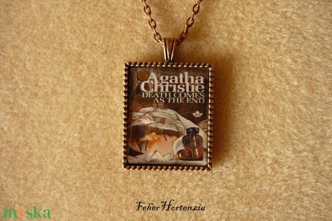 Agatha Christie: És eljő a halál  (réz) - nyaklánc - Meska.hu