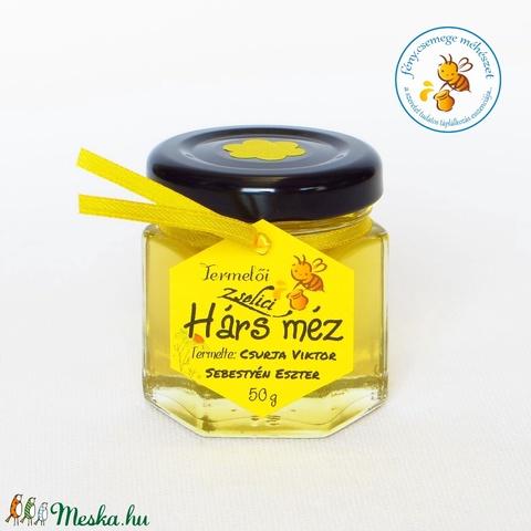zselici hárs méz mini díszüvegben (fenycsemege) - Meska.hu