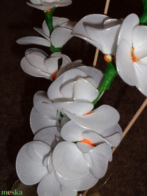 Orchidea fehér (fonagymuhely) - Meska.hu