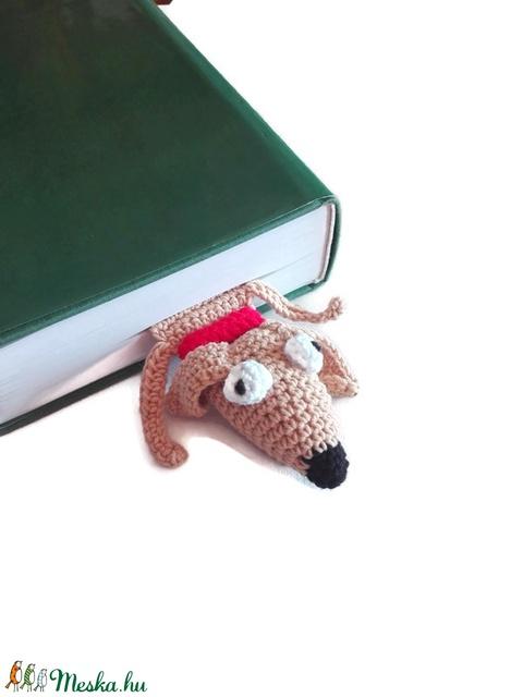 Blöki tacsi kutya, vicces könyvjelző  - otthon & lakás - papír írószer - könyvjelző - Meska.hu