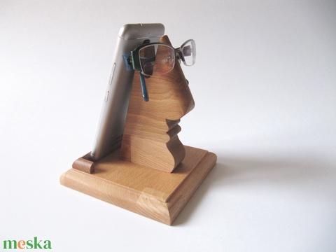 Mobiltartó és szemüvegtartó, 2 az 1-ben! - Meska.hu