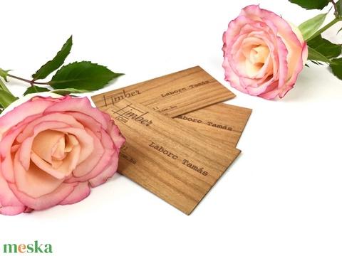 Fa névjegykártya (cseresznye) - Meska.hu
