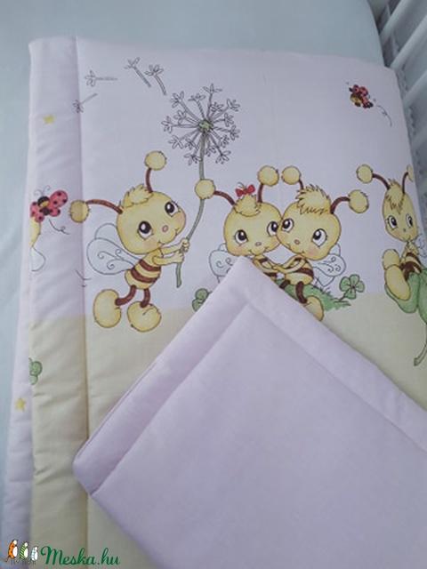 4 részes, méhecskés baba szett (GabocaKelengye) - Meska.hu