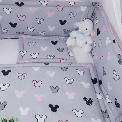 3 részes, rözsaszín Mickey baba szett (GabocaKelengye) - Meska.hu