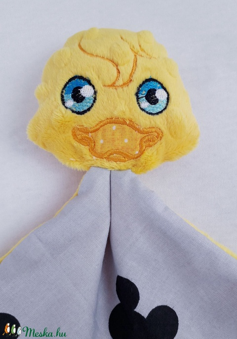 Szundikendő - sárga kacsa - kicsi - Meska.hu