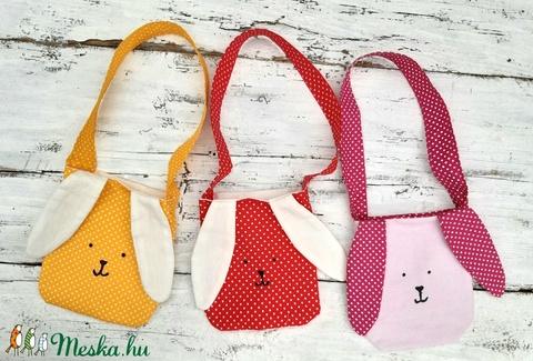 Nyuszi ajándéktáska, húsvéti táska gyerekeknek, játszó táska (garievi) - Meska.hu