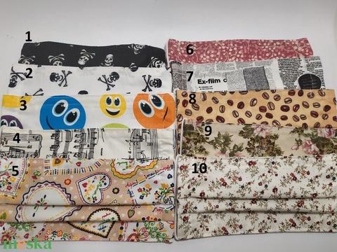 5db textil maszk választható mintával (gervera) - Meska.hu