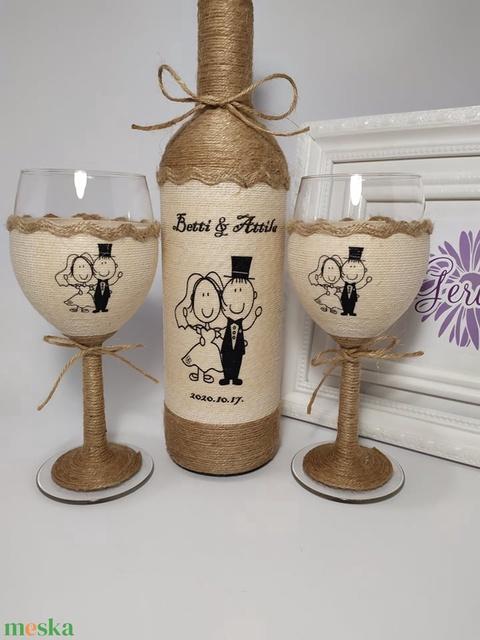 Vintage boros szett (gervera) - Meska.hu
