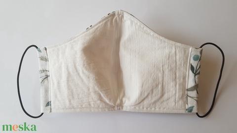 SZŰRŐBETÉTES szájmaszk - tavaszi mintával (női méret) - Meska.hu