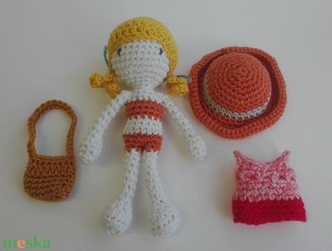 Eliza, a mini nyár-baba - Meska.hu