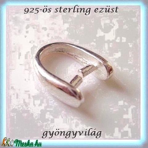 925-ös ezüst medálkapocs  EMK 12-3  L - Meska.hu