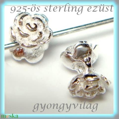 925-ös ezüst köztes / gyöngy / dísz EKÖ 74 - gyöngy, ékszerkellék - egyéb alkatrész - Meska.hu