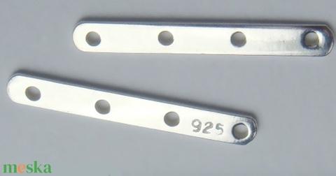 925-ös ezüst távtartó ETT 04 - Meska.hu
