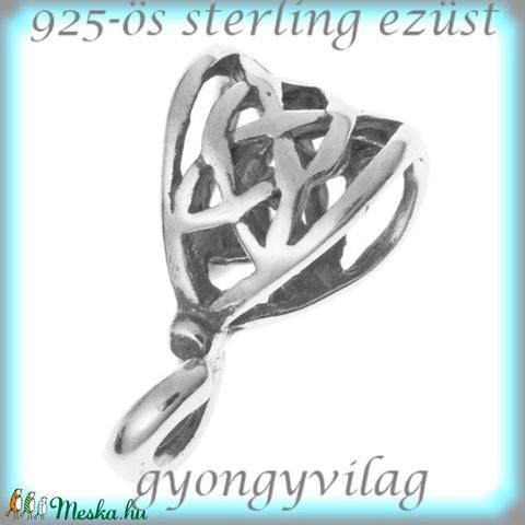 925-ös ezüst medáltartó EMT 24 - Meska.hu