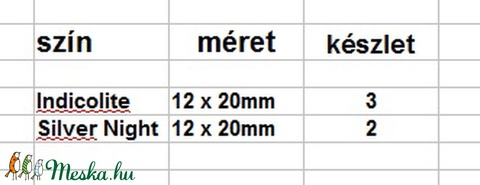 Swarovski helios 20mm-es több színben - Meska.hu