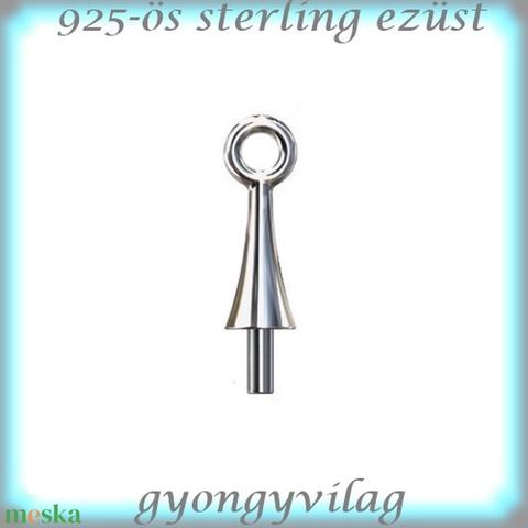 925-ös sterling ezüst ékszerkellék: medáltartó, medálkapocs EMK 64-2,6 - Meska.hu