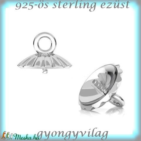 925-ös ezüst medálkapocs EMK 67 e - Meska.hu